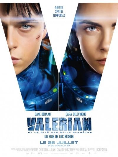 [News – Cinéma] Nouvelle bande annonce de «Valérian et la Cité des mille Planètes» de Luc Besson, sortie le 26 juillet