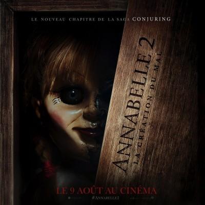 [News – Cinéma] Bande-annonce de «Annabelle 2:  La Création du Mal» de David F. Sandberg, sortie le 9 Août