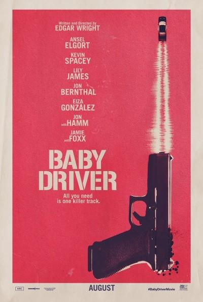 [News – Cinéma] Bande-annonce de «Baby Driver» de Edgar Wright, sortie le 23 Août.