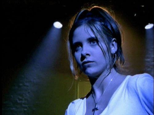 image sarah michelle gellar buffy contre les vampires saison 1 épisode 2 the harvest