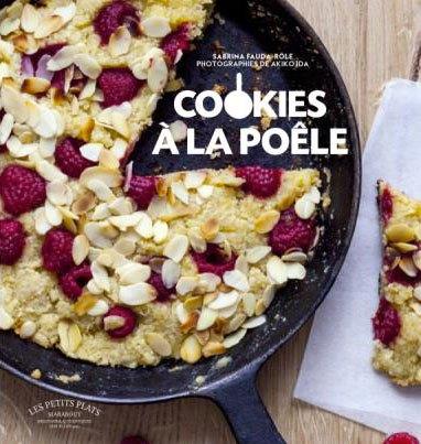 image couverture cookies à la poêle sabrina fauda-rôle marabout les petits plats