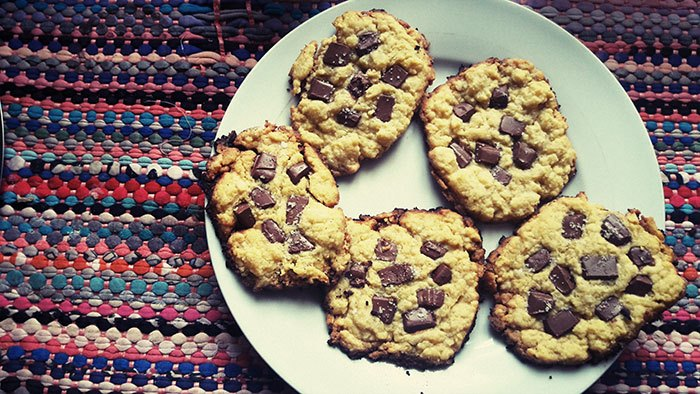 image cookies chocolat au lait et fleur de sel