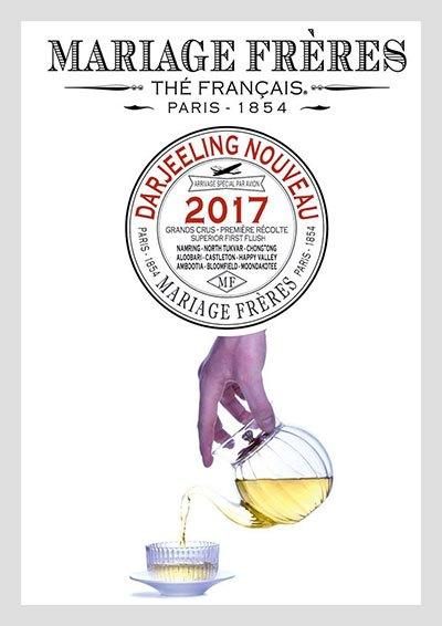 [Dégustation— Thés] Mariage Frères : Nous avons goûté le Darjeeling Nouveau 2017