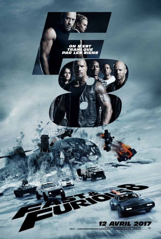 image F. Gary Gray poster fast and furious 8