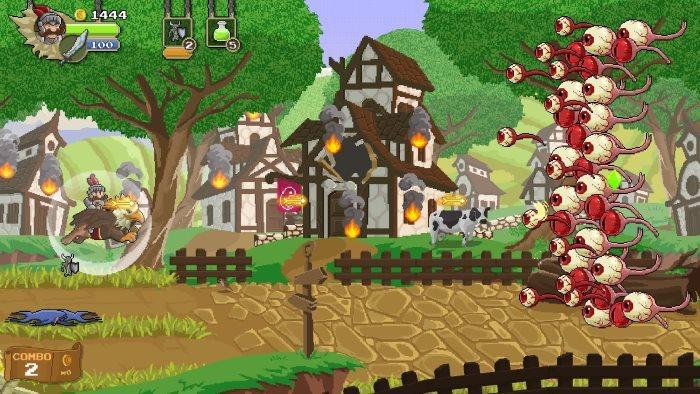 image jeu gryphon knight epic