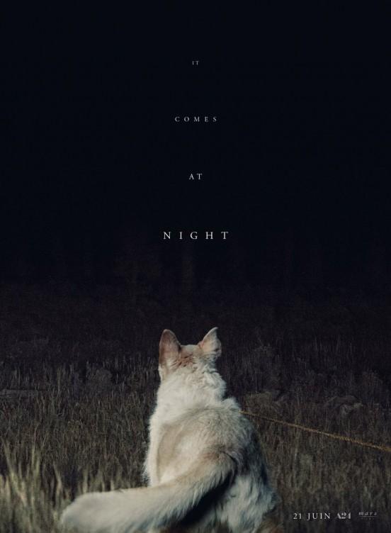 image trey edward shults poster it comes at night