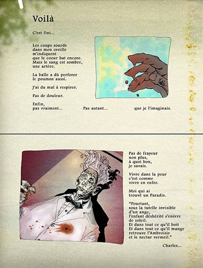 image planche 1 la malédiction de gustave babel gess éditions delcourt