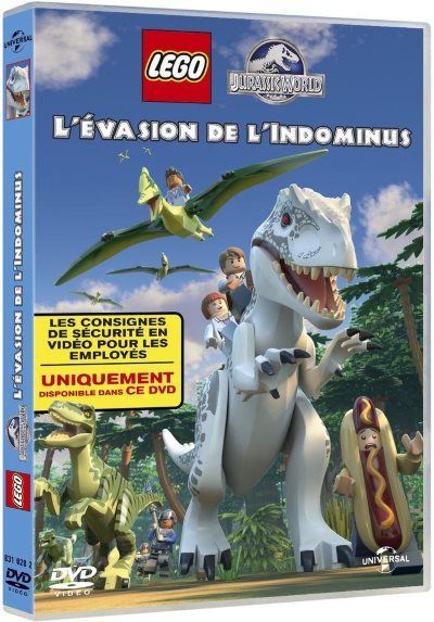 [Test – DVD] LEGO Jurassic World : l'évasion de l'Indominus – Michael D. Black