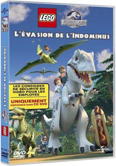 [Test – DVD] LEGO Jurassic World : l'évasion de l'Indominus – Michael D. Black