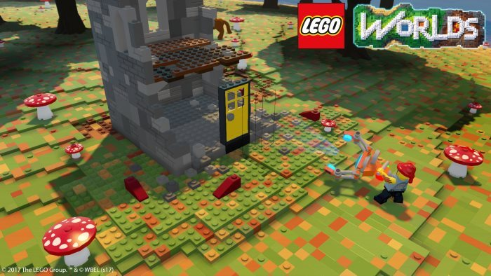 image construction lego worlds