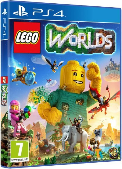 [Test – Playstation 4] Lego Worlds : un charmant bric-à-brac
