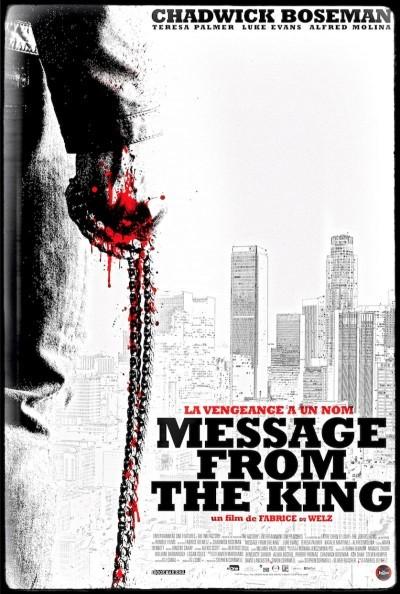 [News – Cinéma] Teaser de «Message from the king» de Fabrice Du Welz, sortie le 10 Mai.