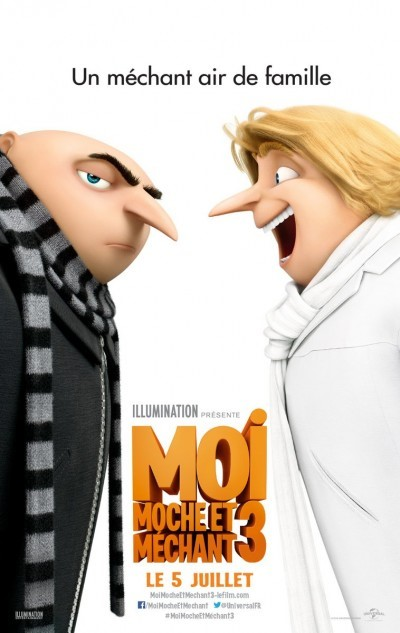[News – Cinéma] Nouvelle bande-annonce de «Moi, Moche et Méchant 3», sortie le 5 Juillet
