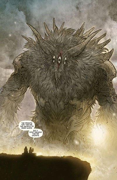 image planche vo monstre monstress tome 1 marjorie liu sana takeda
