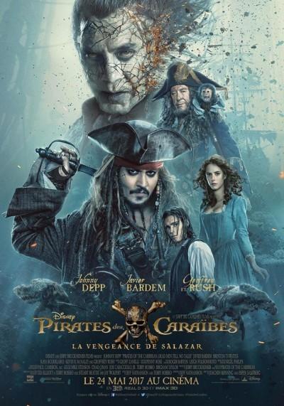 image johnny depp poster pirates des caraibes la vengeance de salazar