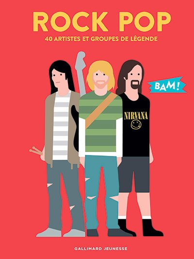 image couverture rock pop collection bam éditions gallimard jeunesse