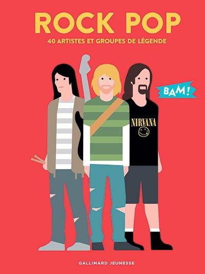 image couverture rock pop collection bam éditions gallimard jeunesse