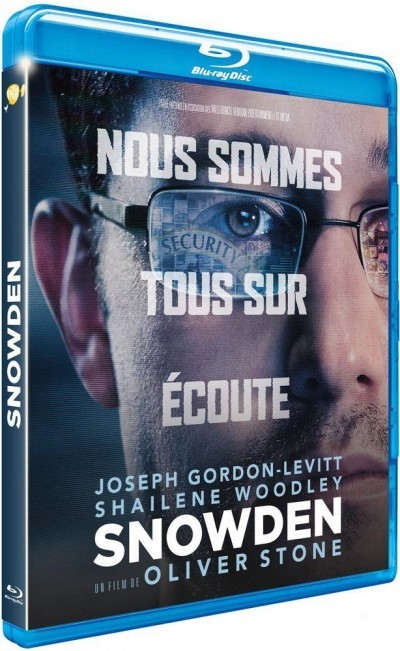 [Test – Blu-Ray] Snowden — Oliver Stone