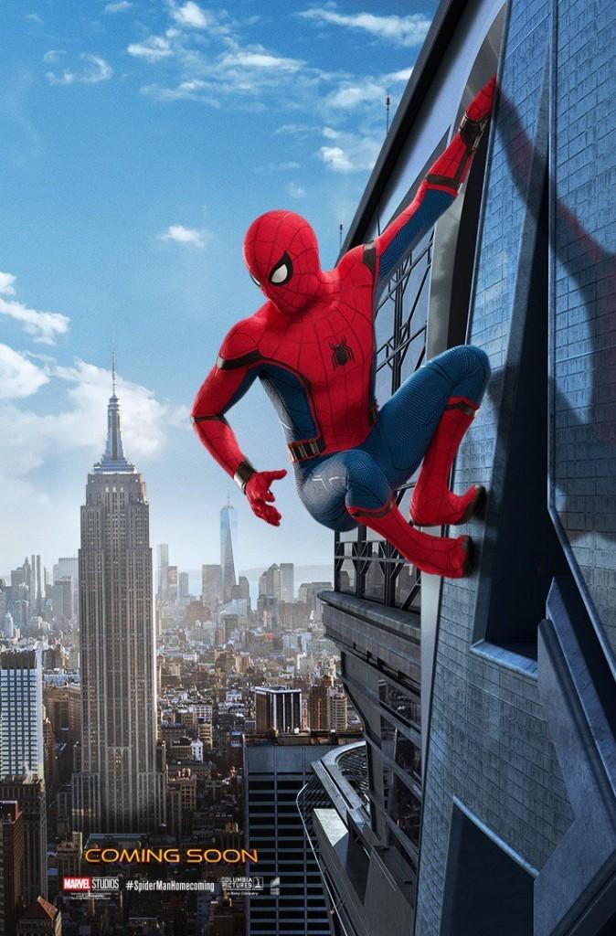 image jon watts poster spider-man: homecoming