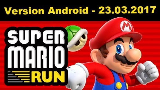 image android super mario run
