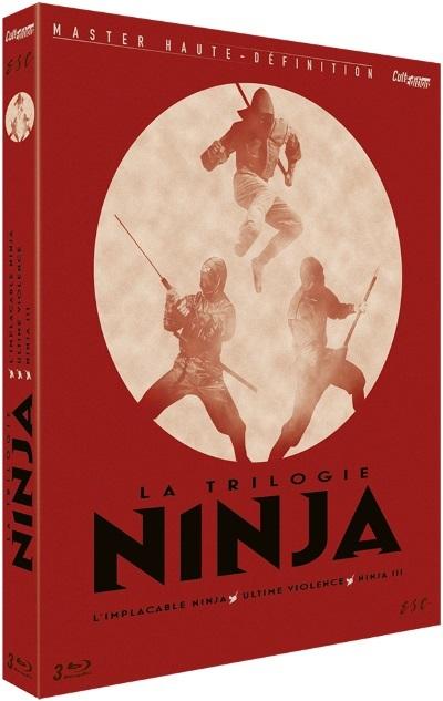 image coffret trilogie ninja