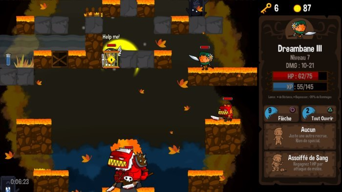 image gameplay vertical drop heroes hd