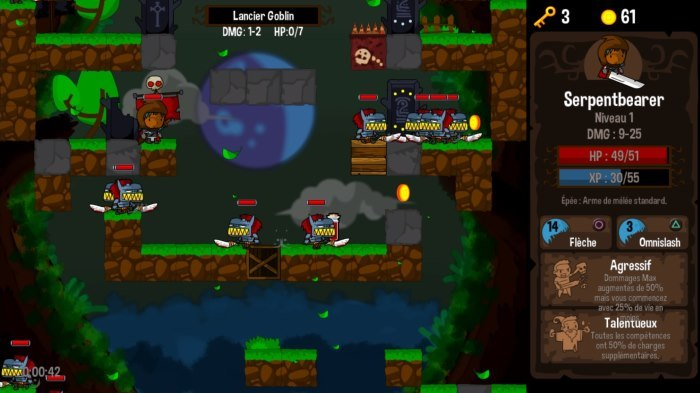 image jeu vertical drop heroes hd