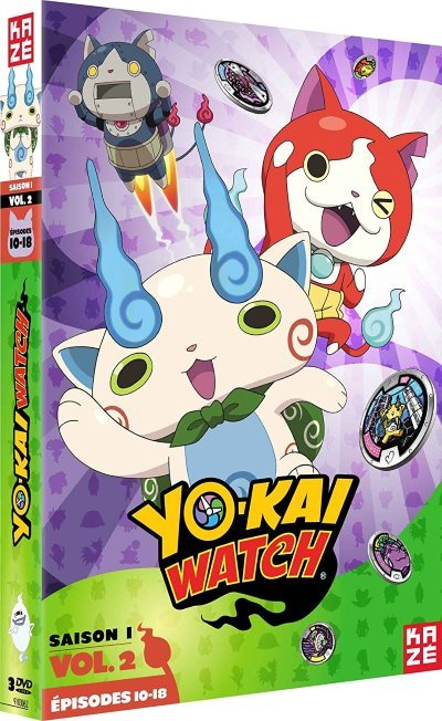 [Test – DVD] Yo-kai Watch : Saison 1 vol.2 – Shinji Ushiro