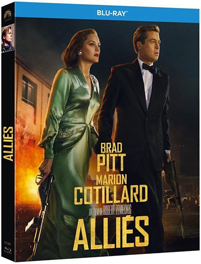 image boitier blu-ray alliés robert zemeckis universal pictures video