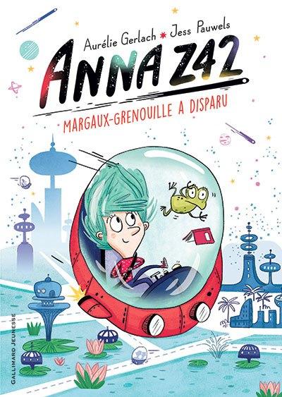 image couverture anna Z42 aurélie gerlach jess pauwels gallimard jeunesse