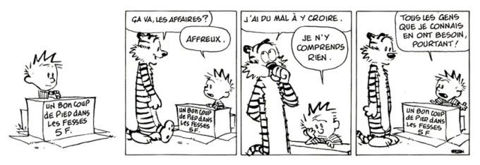 image strip tome 8 calvin et hobbes hors collection