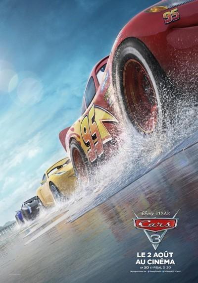 [News – Cinéma] Nouvelle bande-annonce de «Cars 3» de Brian Fee, sortie le 2 Août