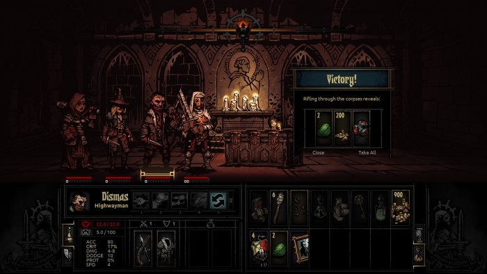 image gameplay darkest dungeon
