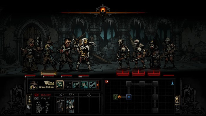 image jeu darkest dungeon