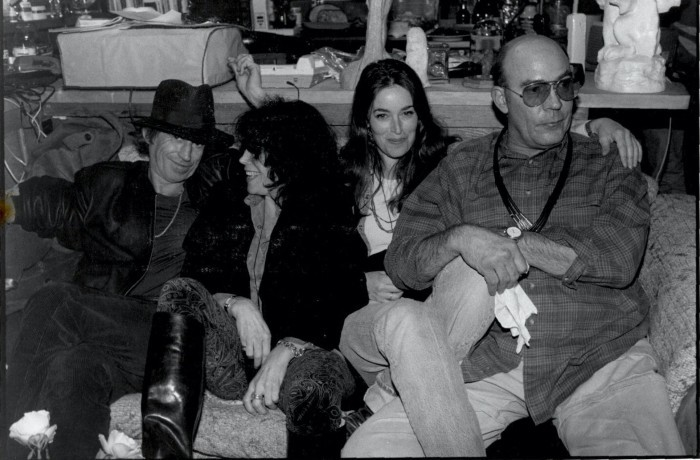 image keith richards jane rose laila nabulsi hunter s. thompson fils de gonzo