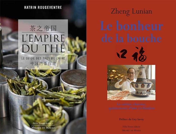 [Concours] Remportez 1 lot de 2 livres sur la gastronomie chinoise