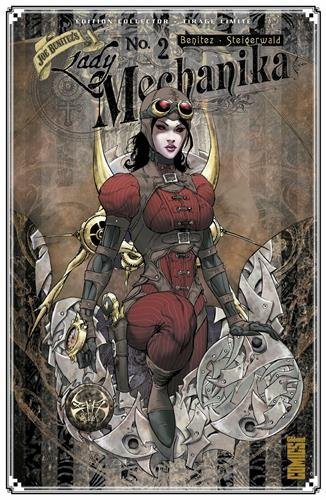 image couverture lady mechanika tome 2 joe benitez édiions glénat