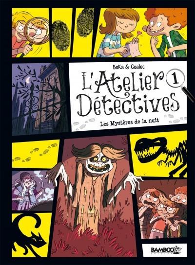 image l'atelier détectives tome 1