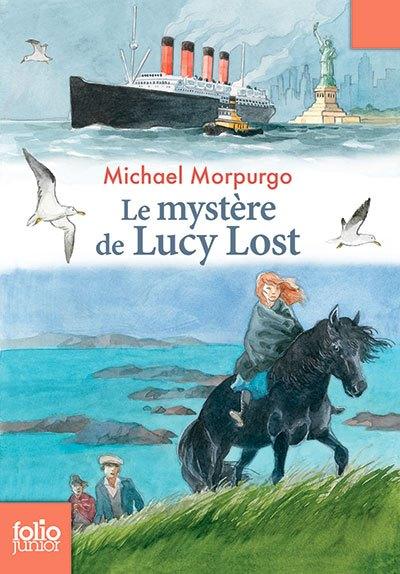 image couverture le mystère de lucy lost michael morpurgo folio junior gallimard jeunesse