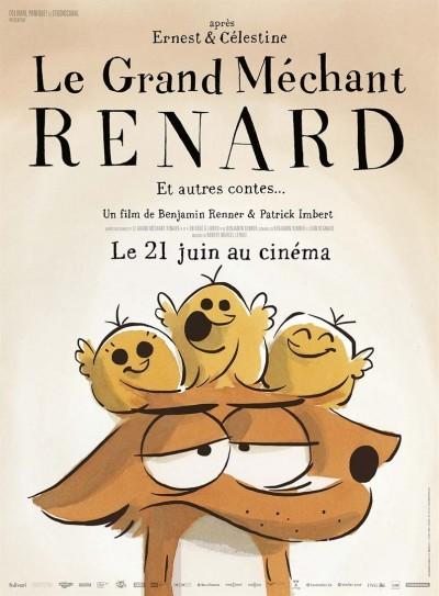 [News – Cinéma] Bande-annonce de «Le grand méchant renard et autres contes», sortie le 21 Juin