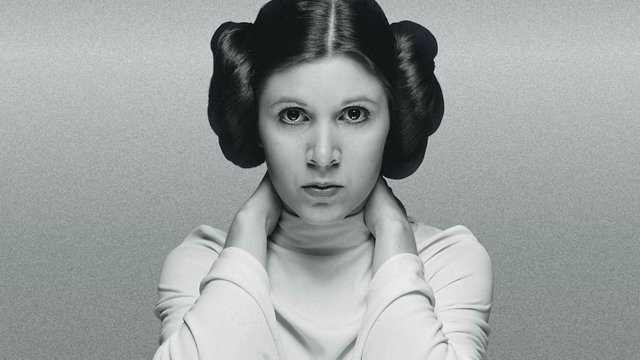 image leia carrie fisher