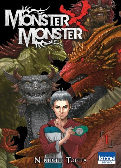 image tome 1 monster x monster