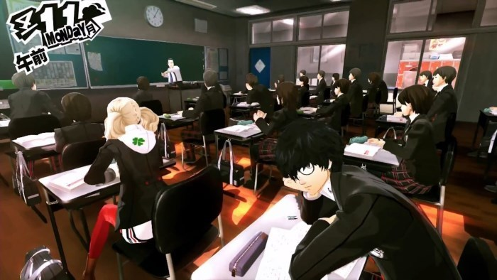 image gameplay persona 5
