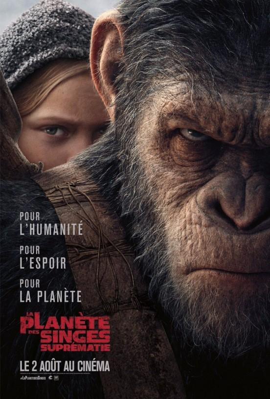 image matt reeves la planète des singes suprématie poster