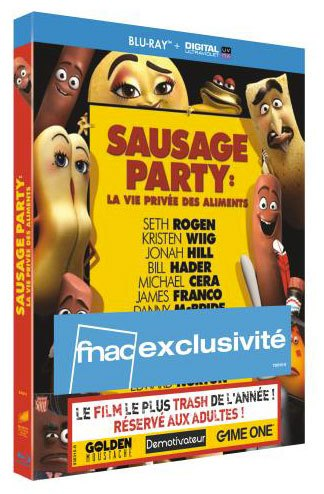[Test – Blu-Ray] Sausage Party – Conrad Vernon & Greg Tiernan
