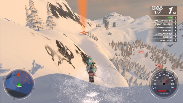 image jeu snow moto racing freedom