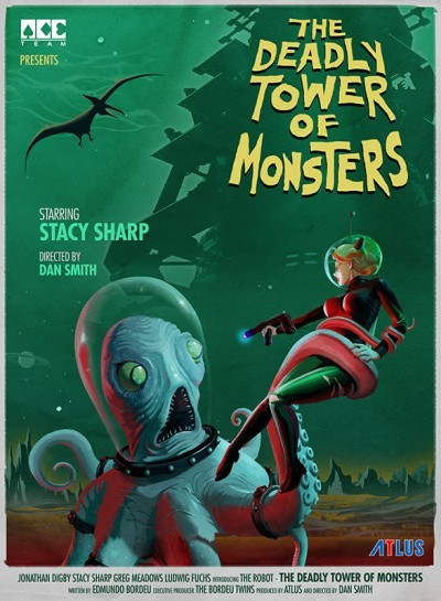 [Test – Playstation 4] The Deadly Tower Of Monsters : une bonne petite série B