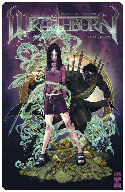 image couverture wraithborn tome 1 renaissance joe benitez éditions glénat