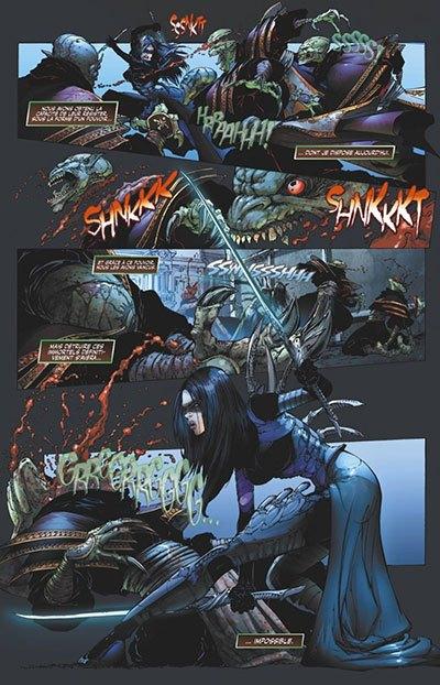 image planche wraithborn marcia chen joe benitez glénat comics