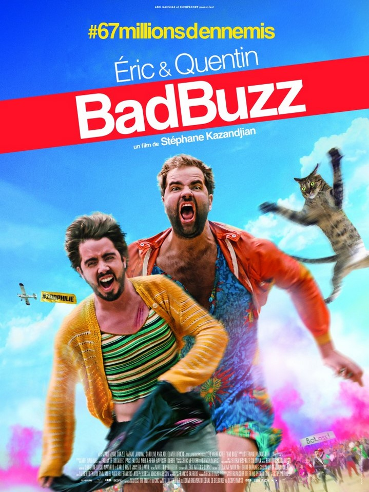 image stephane kazandjian poster bad buzz